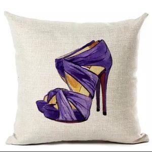 Other - Designer High Heel  Pillow